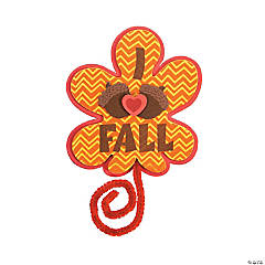 I Heart Fall Magnet Craft Kit