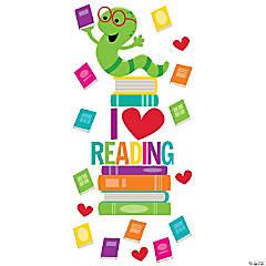 I Love Reading Door Decorating Kit