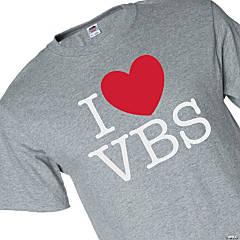 I Love VBS Adult's T-Shirt - 3XL