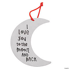 I Love You to the Moon & Back Ornament