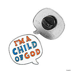 I'm a Child of God Enamel Pins
