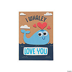 I Whaley Love You Card Craft Kit