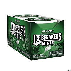 ICE BREAKERS Sugar Free Mints in Spearmint, 1.5 oz, 8 Count