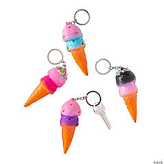 Ice Cream Keychain Slow-Rising Squishies