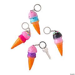 Ice Cream Squishy Keychains