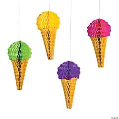 Ice Cream Tissue Decorations