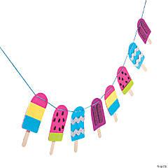 Ice Pop Garland Craft Kit