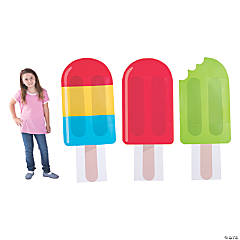 Ice Pop Party Cardboard Stand-Ups