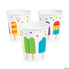 Ice Pop Party Cups