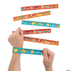Ice Pop Party Slap Bracelets