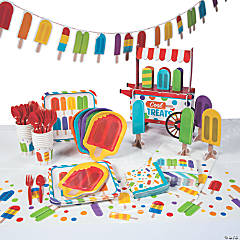Ice Pop Party Tableware Kit for 16 Guests