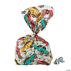Iconic Cars Cellophane Bags