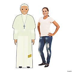 Illustrated Pope Stand-Up