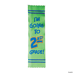 I'm Going to 2nd Grade Graduate Ribbons - Less Than Perfect