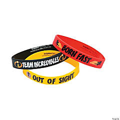Incredibles 2™ Rubber Bracelets