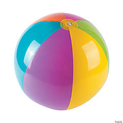 "Inflatable 15"" Bright Extra Large Beach Balls"
