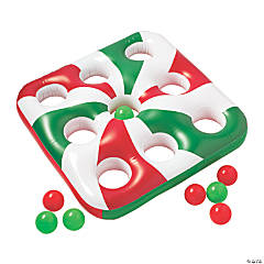 Inflatable 3 in a Row Christmas Carnival Game