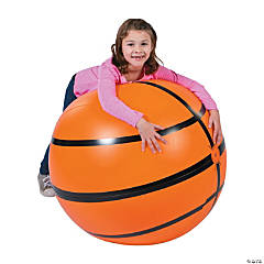 "Inflatable 30"" Sports VBS Extra Large Basketball"