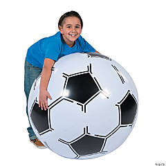 "Inflatable 30"" Sports VBS Extra Large Soccer Ball"