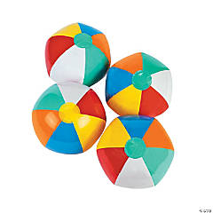 "Inflatable 9"" Classic Medium Beach Balls"