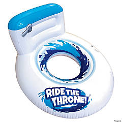 Inflatable Banzai™ Giant Toilet Seat Float