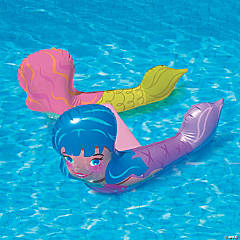 Inflatable Banzai Mermaid Splash Swim Friends