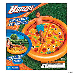 Inflatable Banzai® Pizza Party Splash Pool™