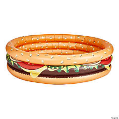 Inflatable BigMouth® Cheeseburger Kiddie Pool