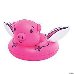 Inflatable BigMouth® Flying Pig Pool Float