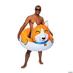 Inflatable BigMouth® Giant Corgi Pool Float