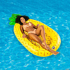 Inflatable Bigmouth® Pineapple Mesh Pool Float