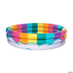 Inflatable BigMouth® Rainbow Kiddie Pool