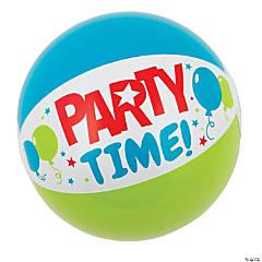 Inflatable Birthday Mini Beach Balls