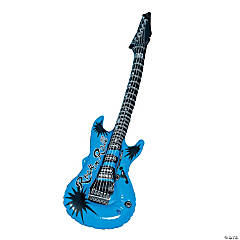 Inflatable Blue Guitar