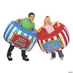 Inflatable Carnival Body Bopper Set