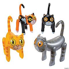 Inflatable Cat Assortment PDQ