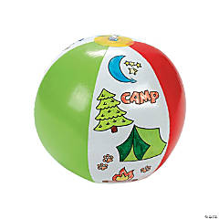Inflatable Color Your Own Camp Beach Balls