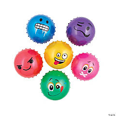 Inflatable Emoji Face Spike Balls Series 3