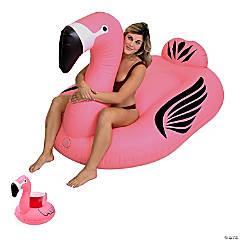 Inflatable GoFloats™ Giant Flamingo Pool Float