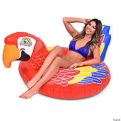 Inflatable GoFloats™ Parrot Poll Party Tube Raft
