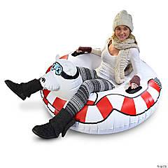 Inflatable GoFloats™ Polar Bear Winter Snow Tube