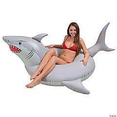 Inflatable GoFloats™ Shark Tube Raft