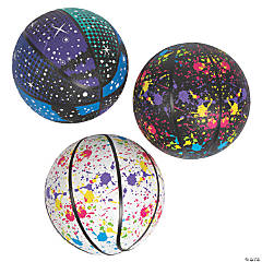 Inflatable Graphic Basketball Assortment