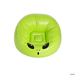 Inflatable Green Alien Chair