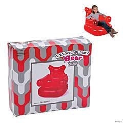 Inflatable Gummy Teddy Bear Chair