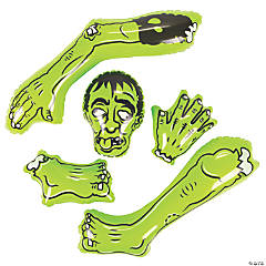 Inflatable Halloween Body Parts