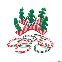 Inflatable Holiday Ring Toss Game