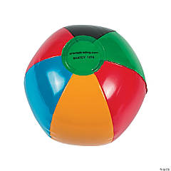 Inflatable International Games Mini Beach Balls