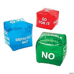 Inflatable Jumbo Decision Maker Dice