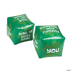 Inflatable Jumbo St. Patrick's Day Dice Set